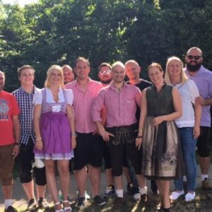 Team Apfelbeck auf dem Gäubodenfest 2016